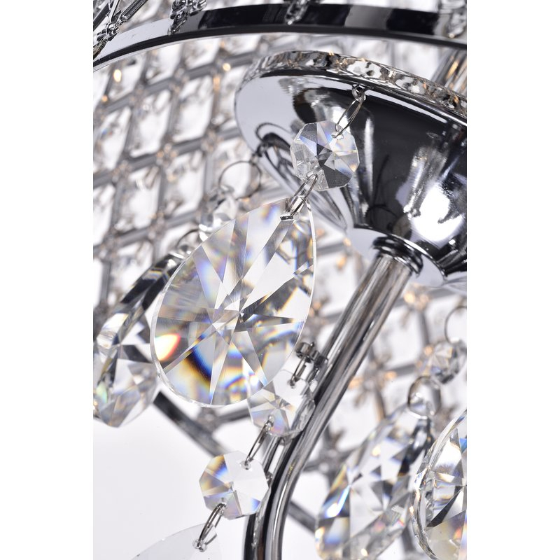 Von 4 Light Crystal Chandelier For Von 4 Light Crystal Chandeliers (Photo 10 of 20)
