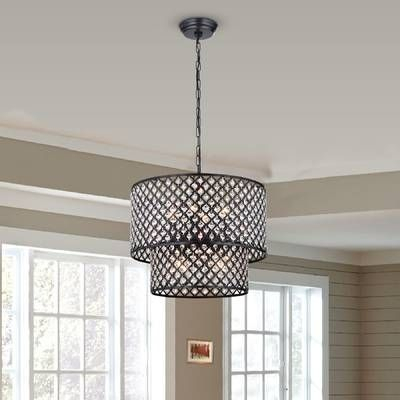 Von 4 Light Crystal Chandelier In 2019 | Kitchen For Von 4 Light Crystal Chandeliers (Photo 12 of 20)