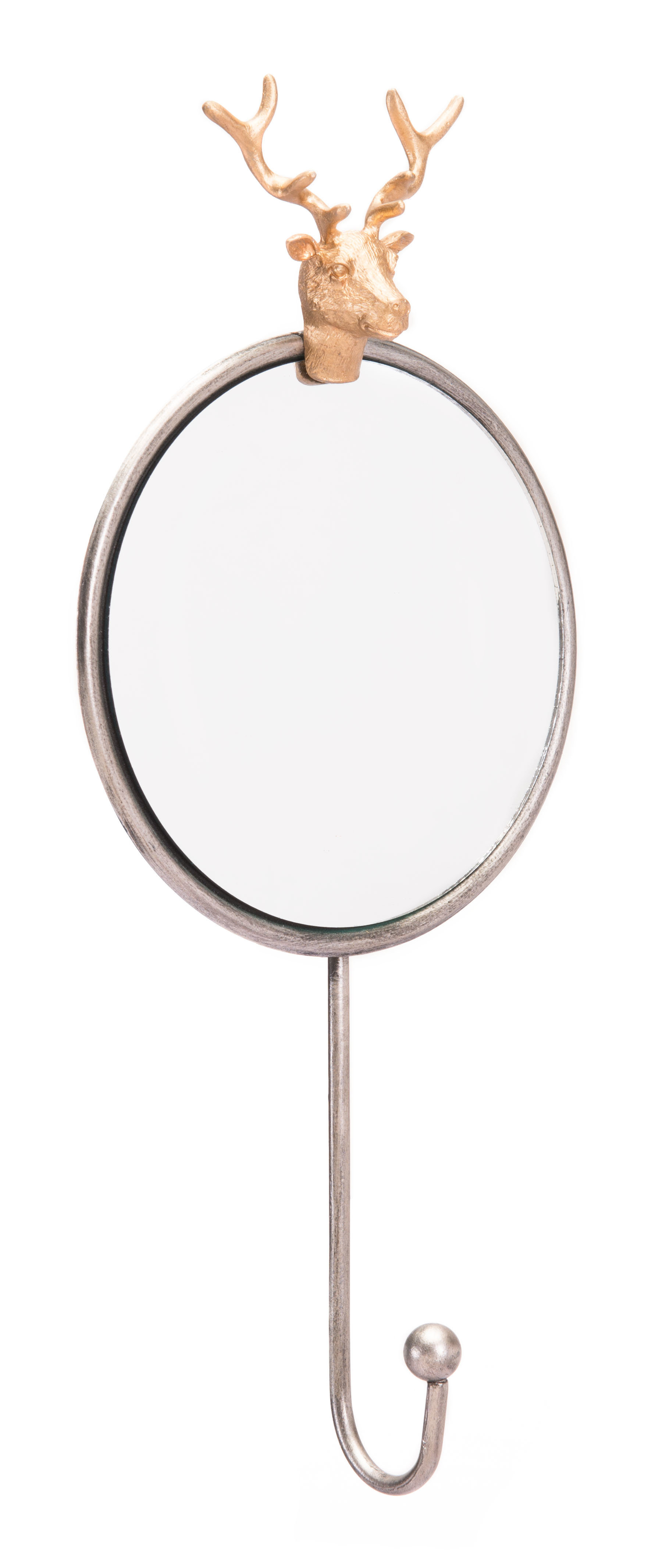 Vonville Antler Accent Mirror Pertaining To Rena Accent Mirrors (Image 19 of 20)