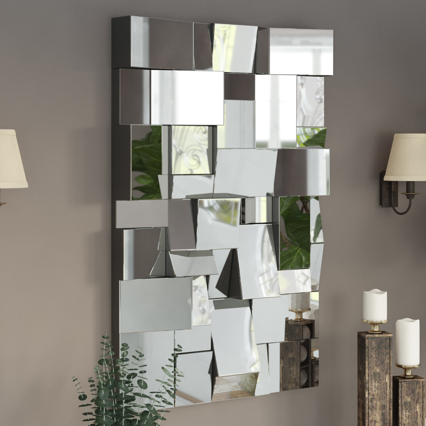 Featured Image of Pennsburg Rectangle Wall Mirrors