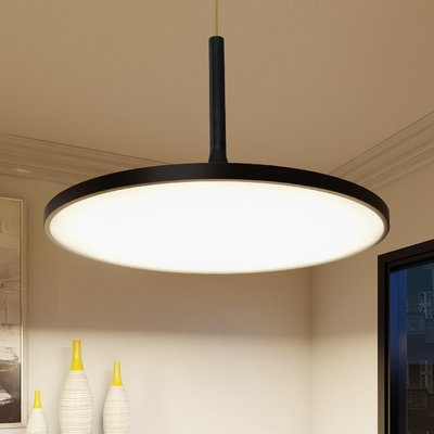 Wade Logan Resa Led Geometric Pendant Throughout Callington 1 Light Led Single Geometric Pendants (View 23 of 25)