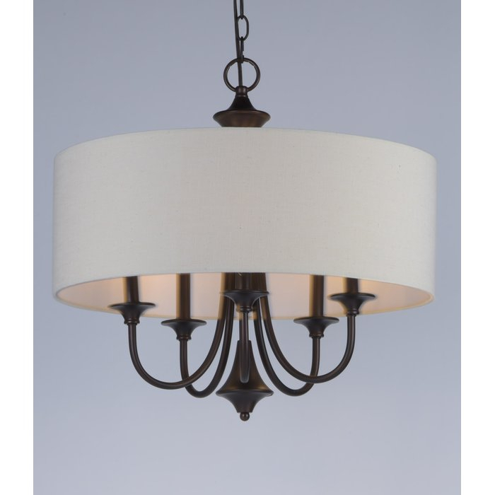 Wadlington 5 Light Drum Chandelier Intended For Buster 5 Light Drum Chandeliers (View 14 of 20)