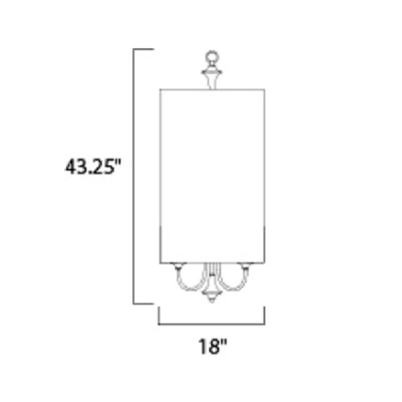 Wadlington 6 Light Single Cylinder Pendant With Wadlington 6 Light Single Cylinder Pendants (View 5 of 25)