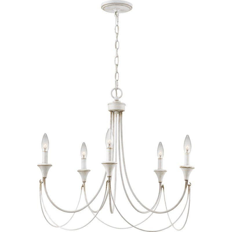 Walczak 5 Light Candle Style Chandelier | 534 Bedroom In Inside Florentina 5 Light Candle Style Chandeliers (View 15 of 20)