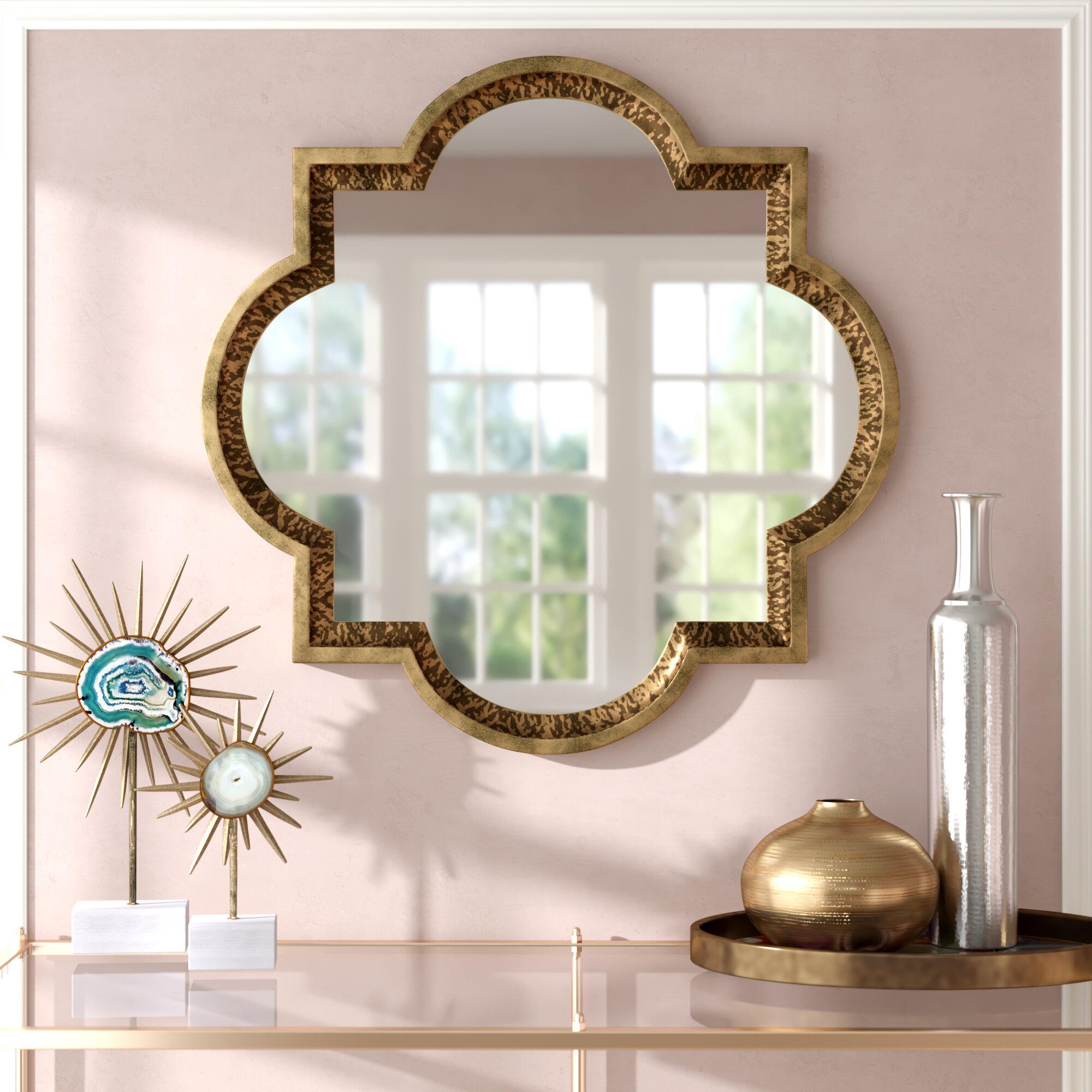 Wall Mirror Art | Wayfair (Image 18 of 20)