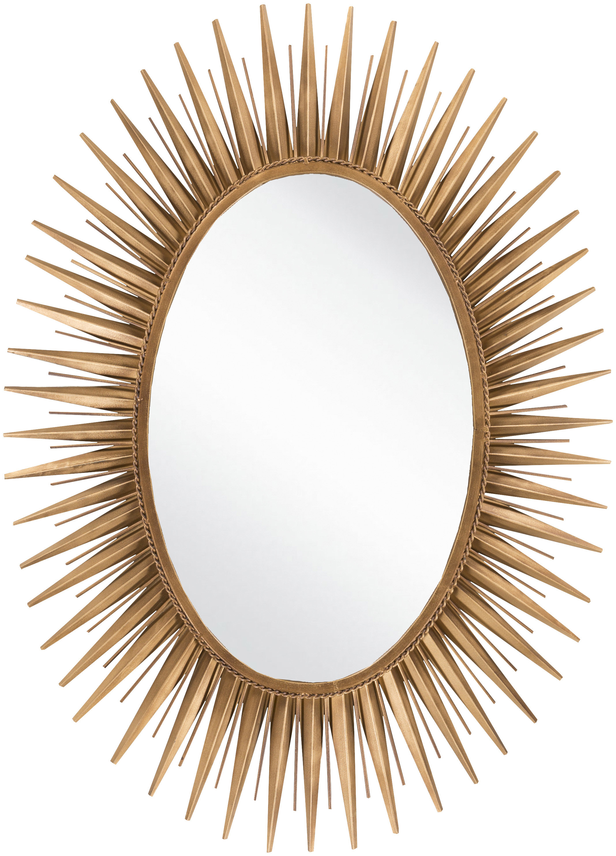 Wall Mirror Pertaining To Harbert Modern And Contemporary Distressed Accent Mirrors (Image 19 of 20)