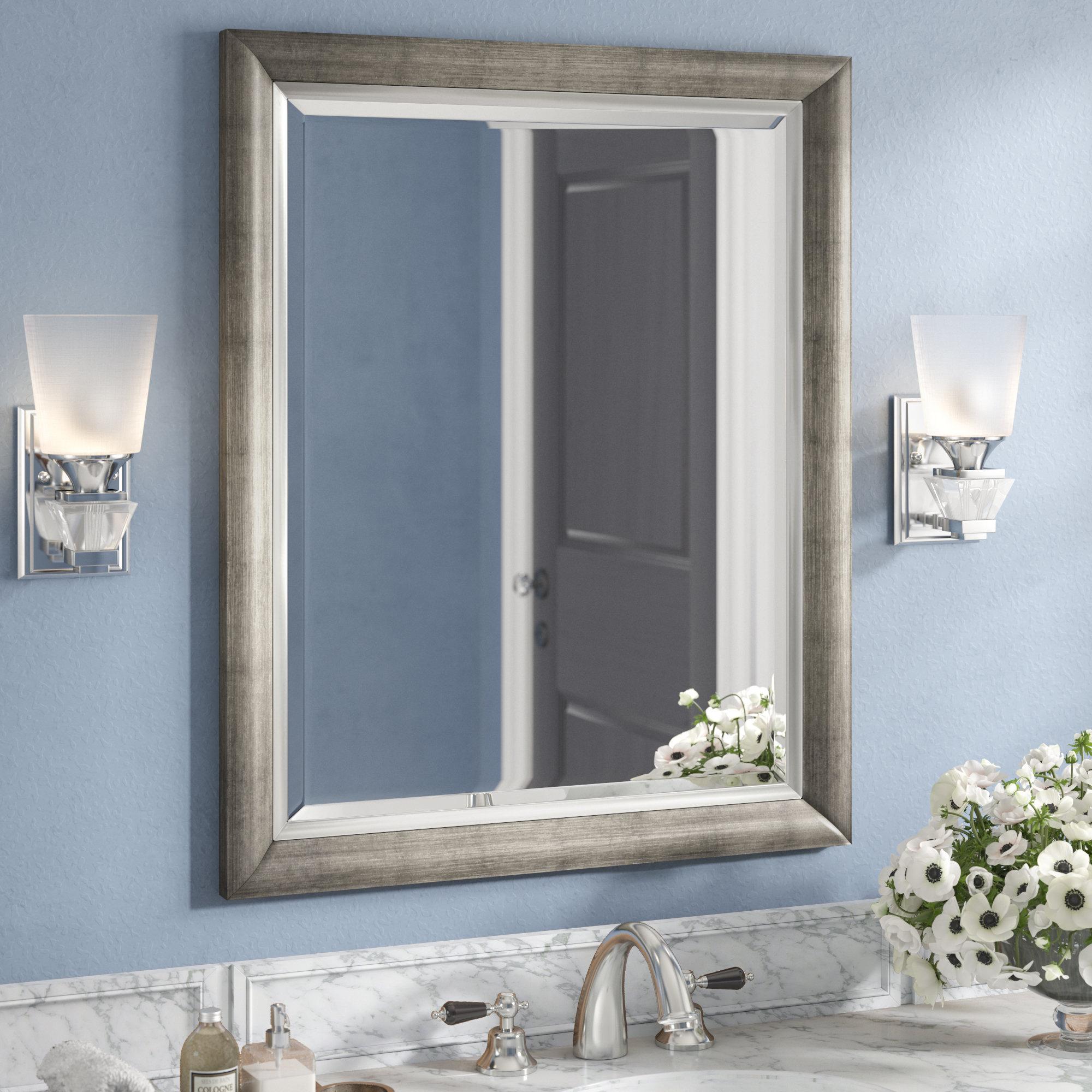 Wall Mirror Regarding Epinal Shabby Elegance Wall Mirrors (Image 20 of 20)
