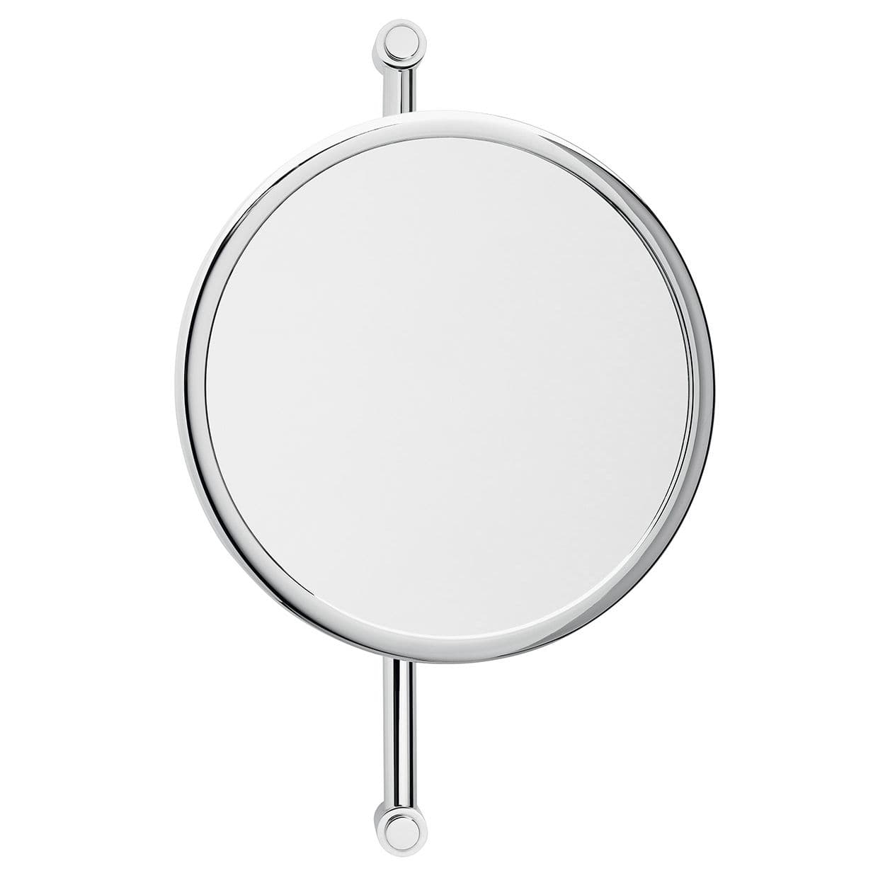 Wall Mounted Bathroom Mirror / Magnifying / Contemporary With Vertical Round Wall Mirrors (Image 20 of 20)