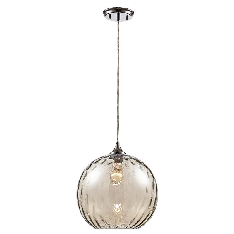Wareham 1 Light Globe Pendant Pertaining To Devereaux 1 Light Single Globe Pendants (Image 25 of 25)
