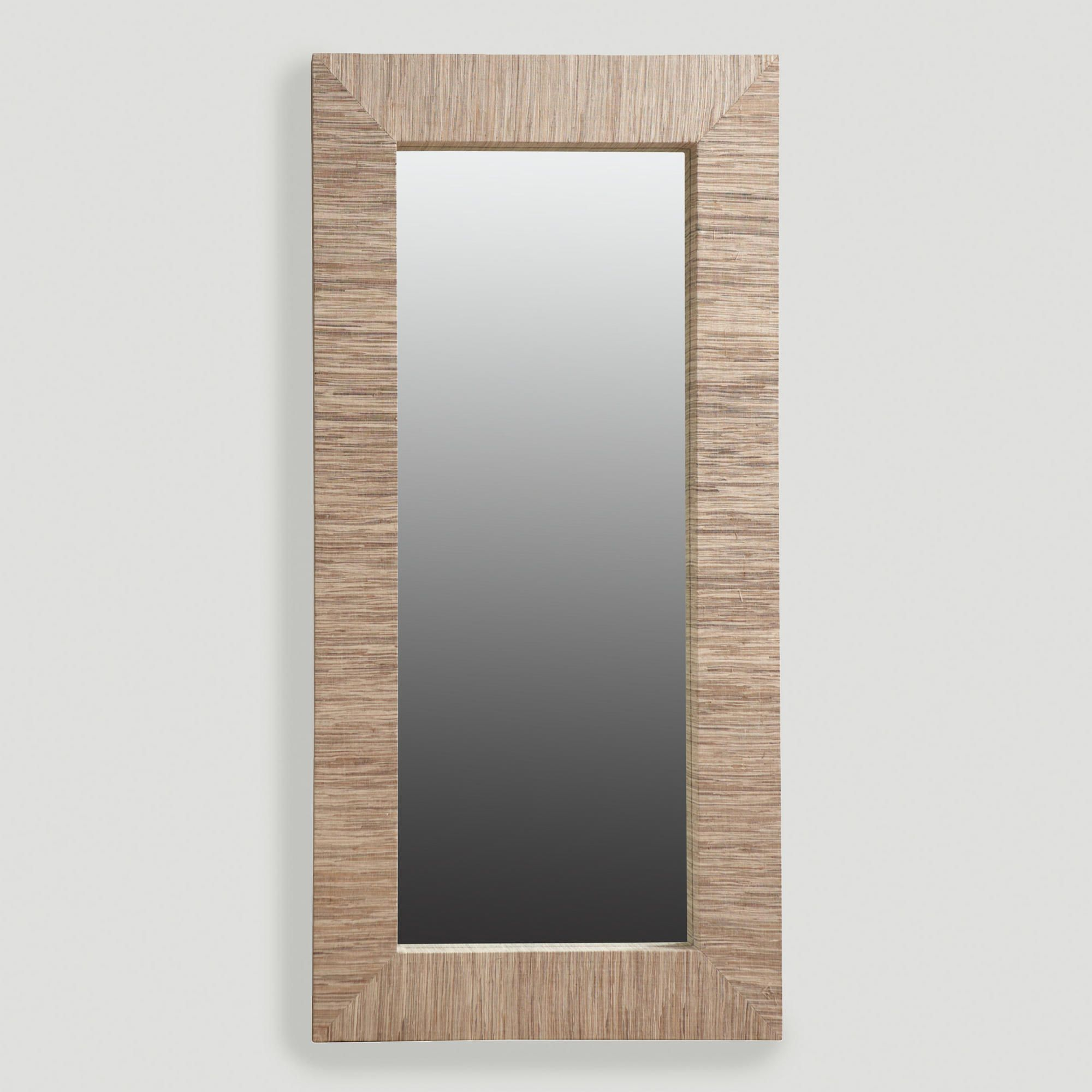 Water Hyacinth Mirror, Oversized | World Market | For The In Boyers Wall Mirrors (Image 19 of 20)