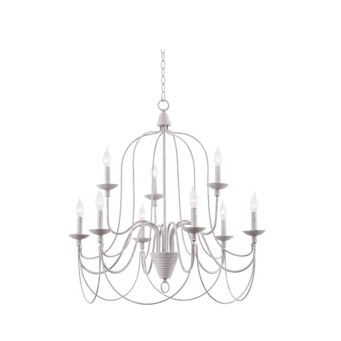 Watford 9 Light Candle Style Chandelier Pertaining To Watford 9 Light Candle Style Chandeliers (Image 18 of 20)