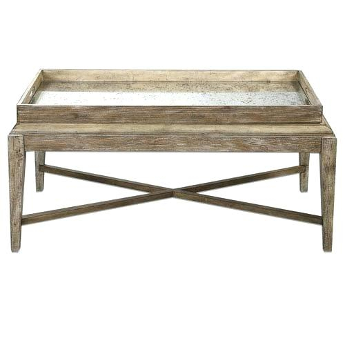 Weathered Wood Coffee Table – Biocomp (Image 49 of 50)