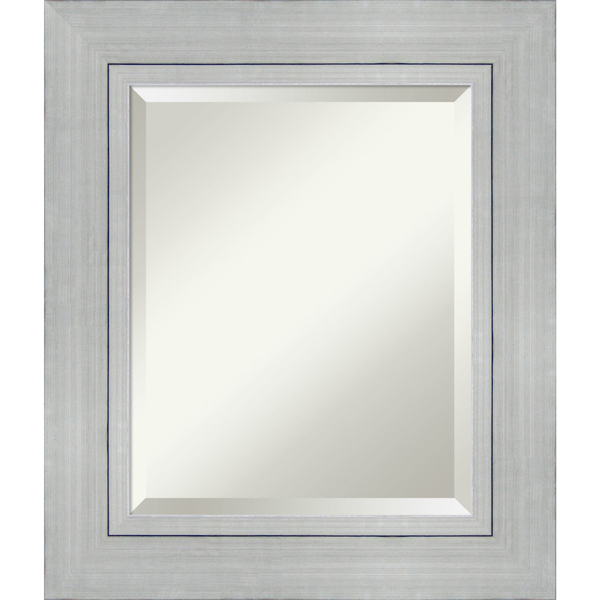 Weeks Rectangle Wall Mirror With Tetbury Frameless Tri Bevel Wall Mirrors (Image 19 of 20)