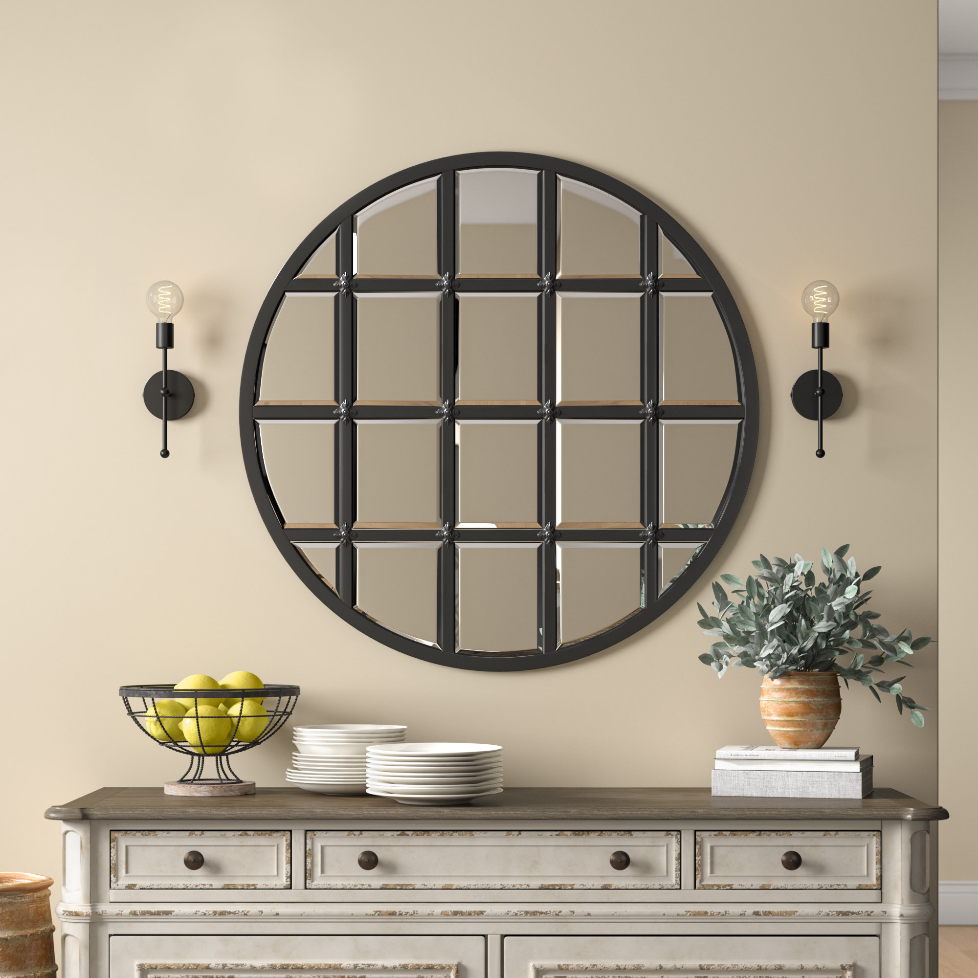 Wells Traditional Accent Mirror Inside Yatendra Cottage/country Beveled Accent Mirrors (View 10 of 20)