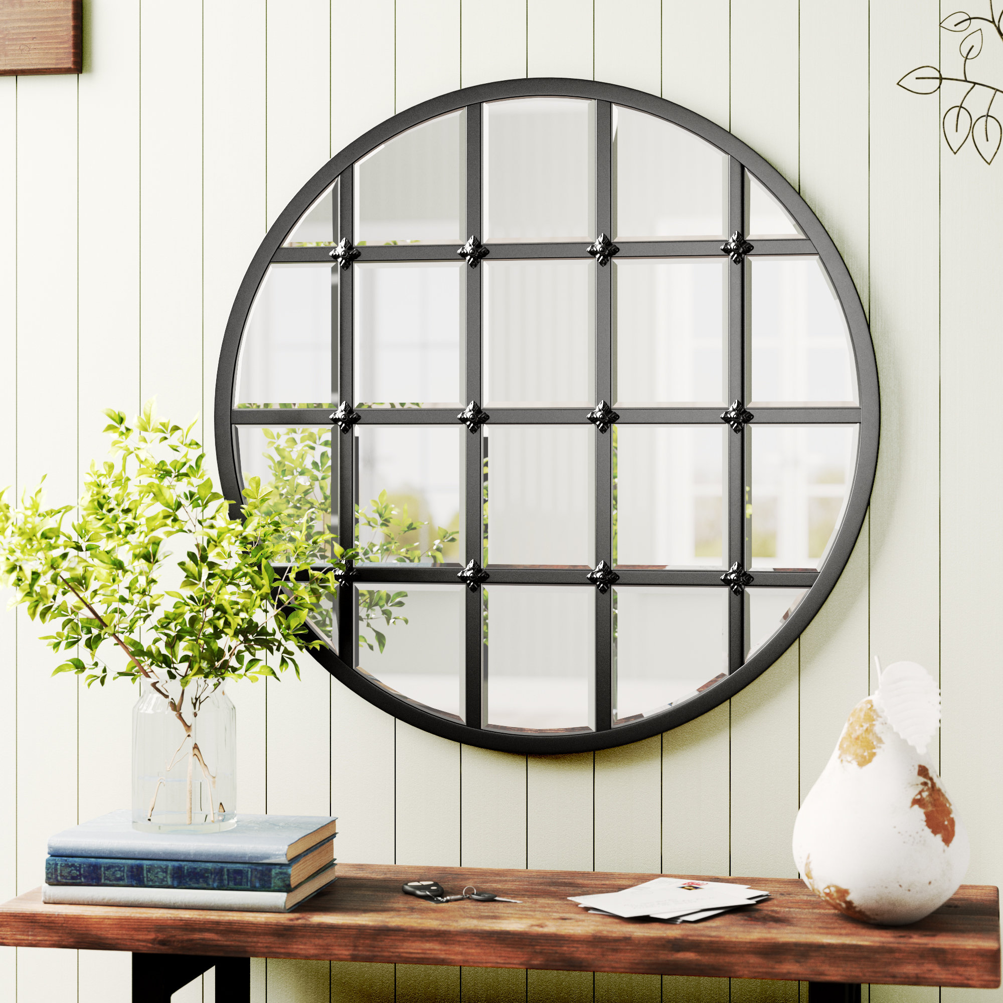 Wells Traditional Accent Mirror With Yatendra Cottage/country Beveled Accent Mirrors (View 7 of 20)