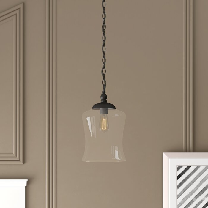 Wentzville 1 Light Single Bell Pendant For Nolan 1 Light Single Cylinder Pendants (View 6 of 25)
