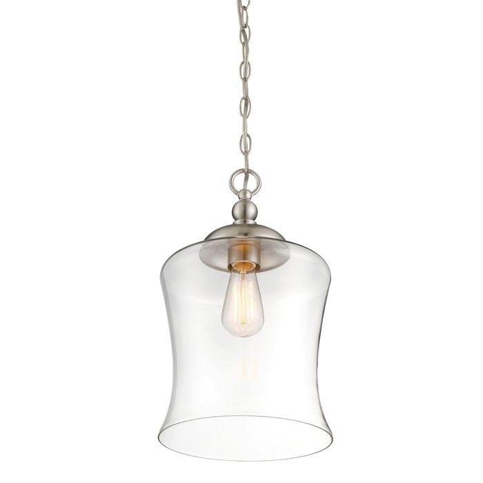 Wentzville 1 Light Single Bell Pendant Inside Wentzville 1 Light Single Bell Pendants (Image 18 of 25)