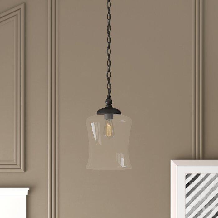 Wentzville 1 Light Single Bell Pendant Intended For Roslindale 1 Light Single Bell Pendants (View 13 of 25)