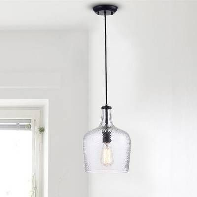 Wentzville 1 Light Single Bell Pendant | Lighting In 2019 Throughout Wentzville 1 Light Single Bell Pendants (Image 17 of 25)