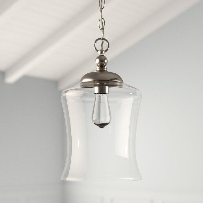 Wentzville 1 Light Single Bell Pendant Pertaining To Bundaberg 1 Light Single Bell Pendants (View 20 of 25)