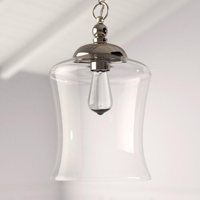 Wentzville 1 Light Single Bell Pendant Regarding Nolan 1 Light Single Cylinder Pendants (View 10 of 25)