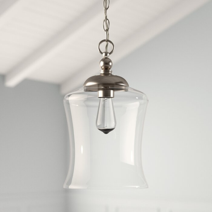 Wentzville 1 Light Single Bell Pendant Throughout Carey 1 Light Single Bell Pendants (View 7 of 25)