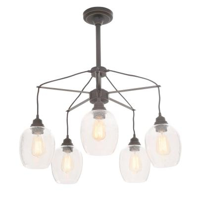 Westinghouse – Chandeliers – Lighting – The Home Depot Intended For Alayna 4 Light Shaded Chandeliers (Image 18 of 20)