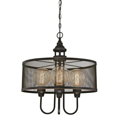 Westinghouse – Chandeliers – Lighting – The Home Depot Intended For Alayna 4 Light Shaded Chandeliers (View 8 of 20)