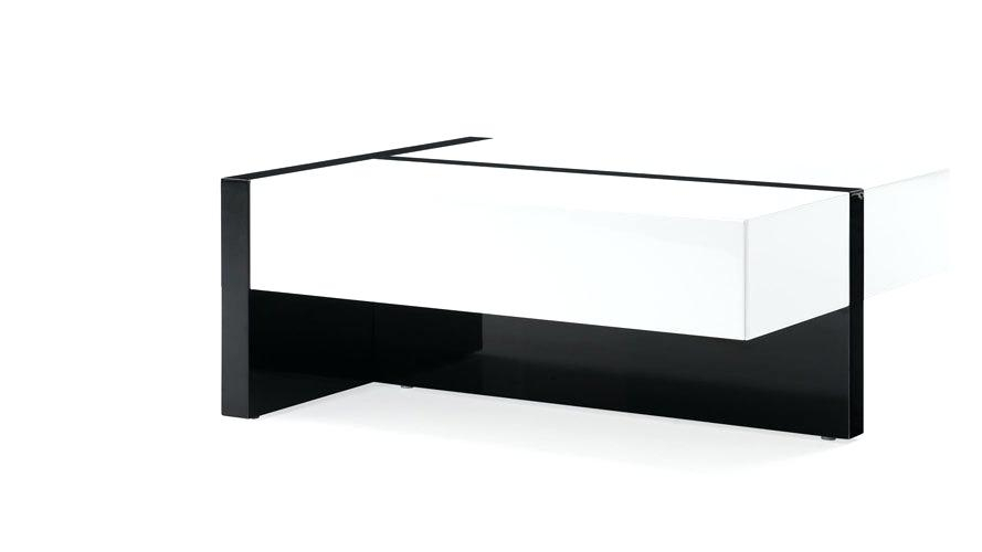 White Gloss Coffee Table – Fritzradford (Image 23 of 25)