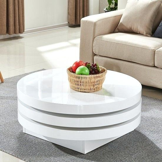 White Gloss Coffee Tables – Jamarmclees (Image 24 of 25)