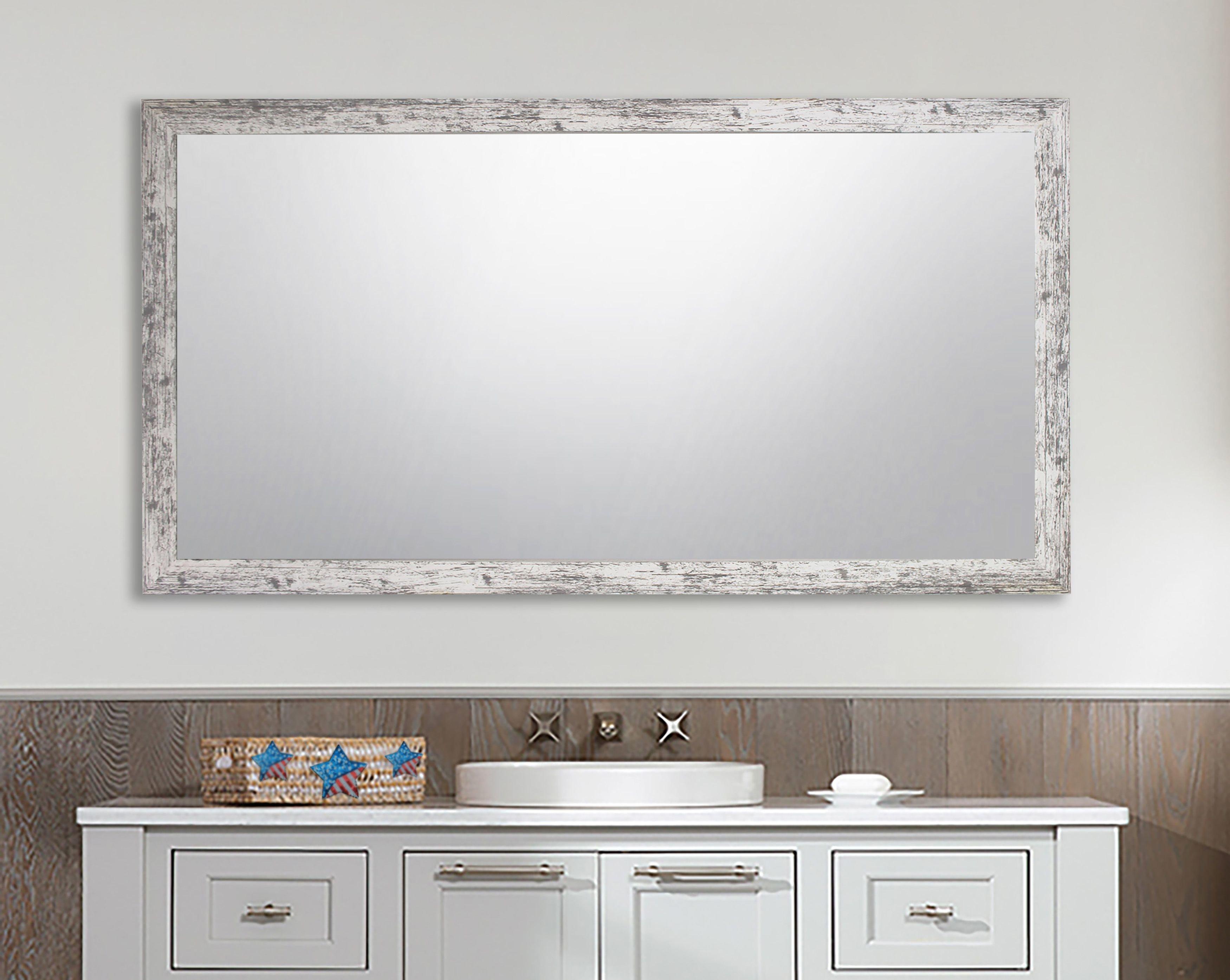 White Wall Mirrors | Joss & Main Inside Mexborough Bathroom/vanity Mirrors (Image 20 of 20)
