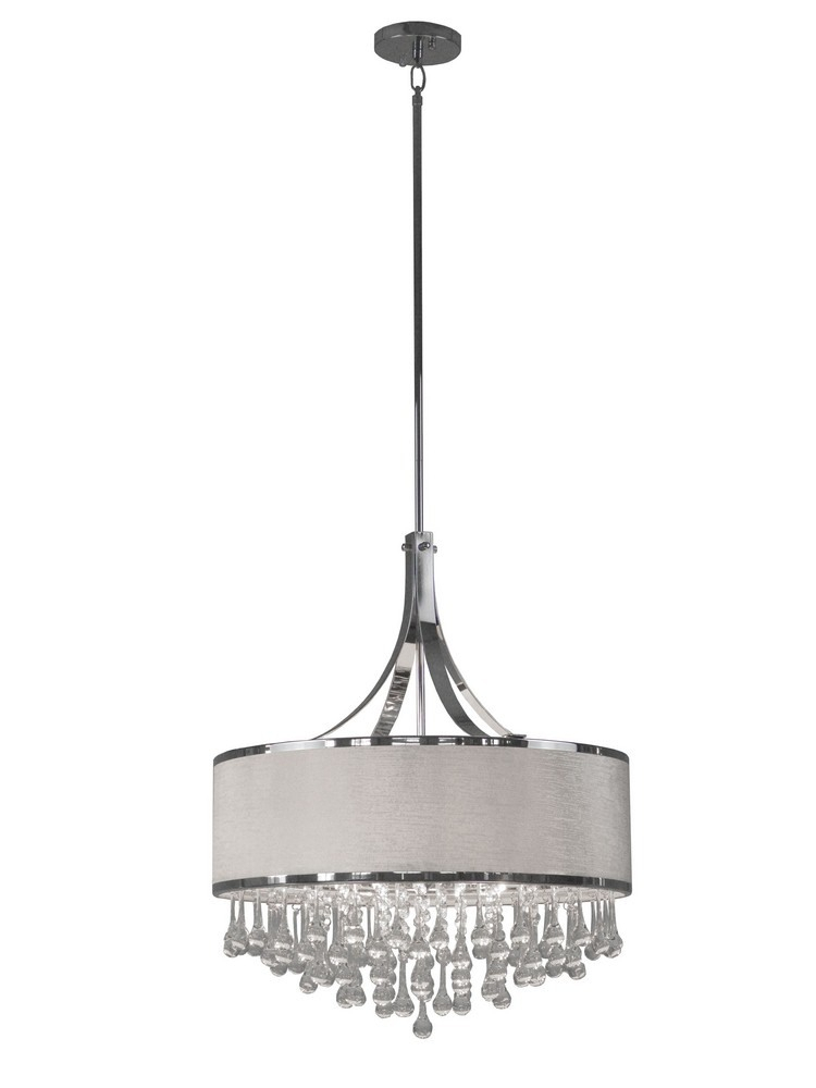 Whitfield Lighting With Willems 1 Light Single Drum Pendants (Image 22 of 25)