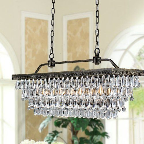 Whitten 4 Light Crystal Chandelier | Products In 2019 Intended For Whitten 4 Light Crystal Chandeliers (View 3 of 20)
