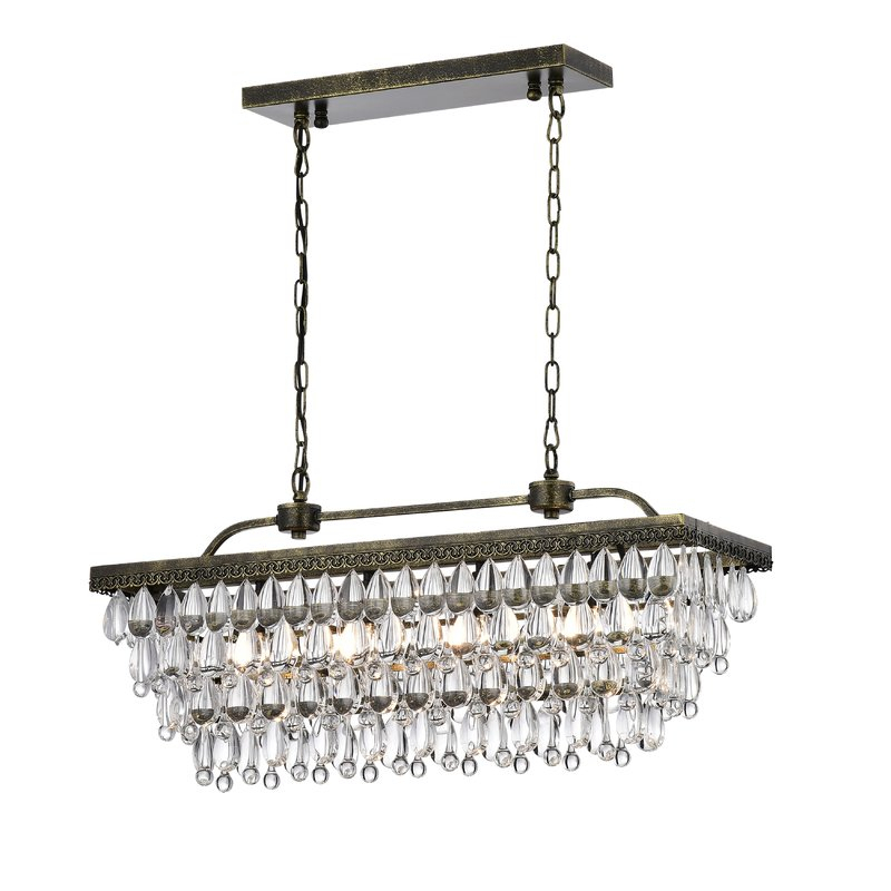 Featured Image of Whitten 4 Light Crystal Chandeliers