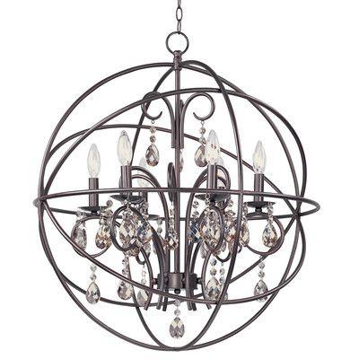 Willa Arlo Interiors Alden 6 Light Globe Chandelier Intended For Alden 6 Light Globe Chandeliers (View 11 of 20)