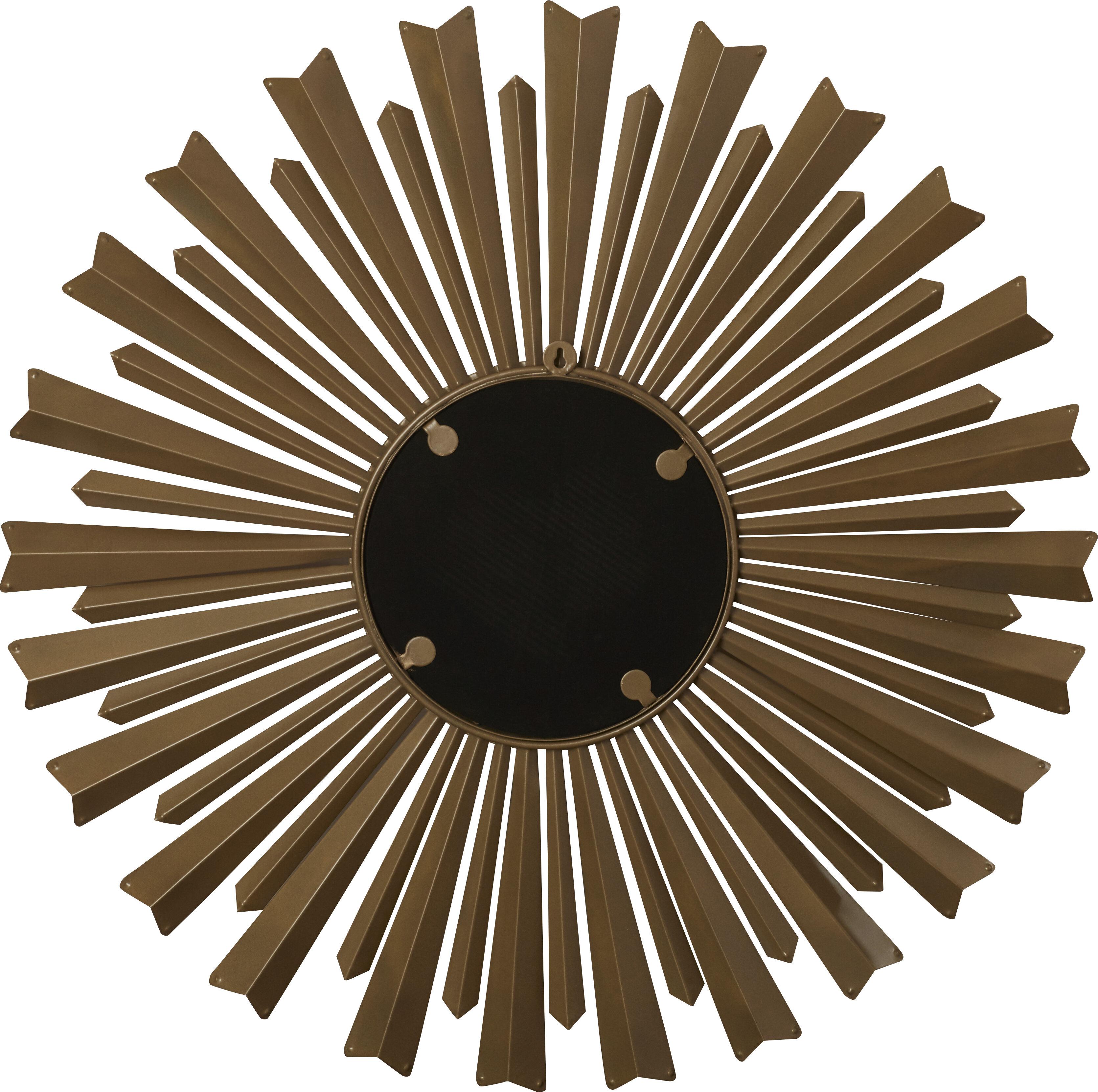 Willa Arlo Interiors Birksgate Sunburst Accent Mirror Intended For Birksgate Sunburst Accent Mirrors (View 7 of 20)