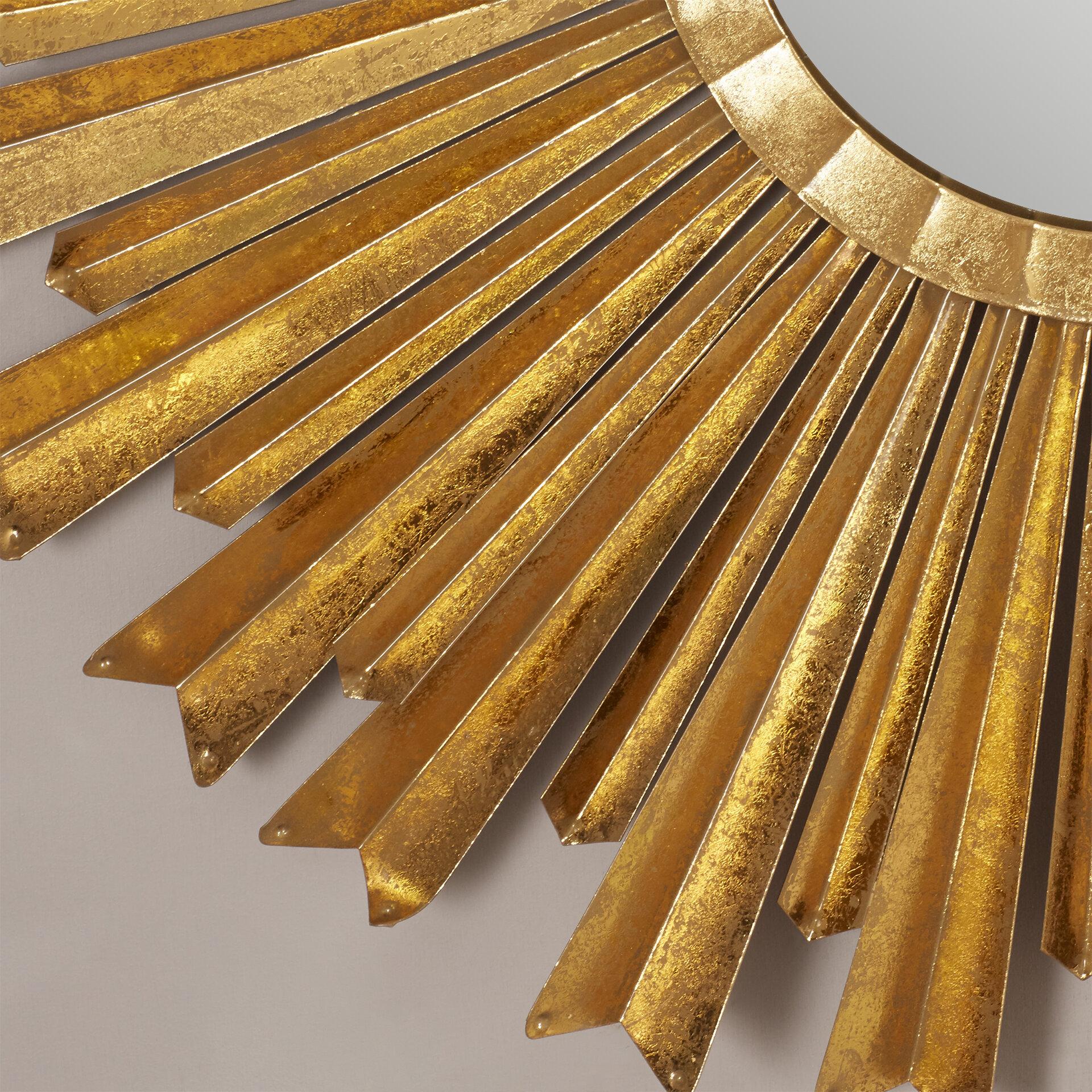 Willa Arlo Interiors Birksgate Sunburst Accent Mirror Regarding Birksgate Sunburst Accent Mirrors (View 19 of 20)