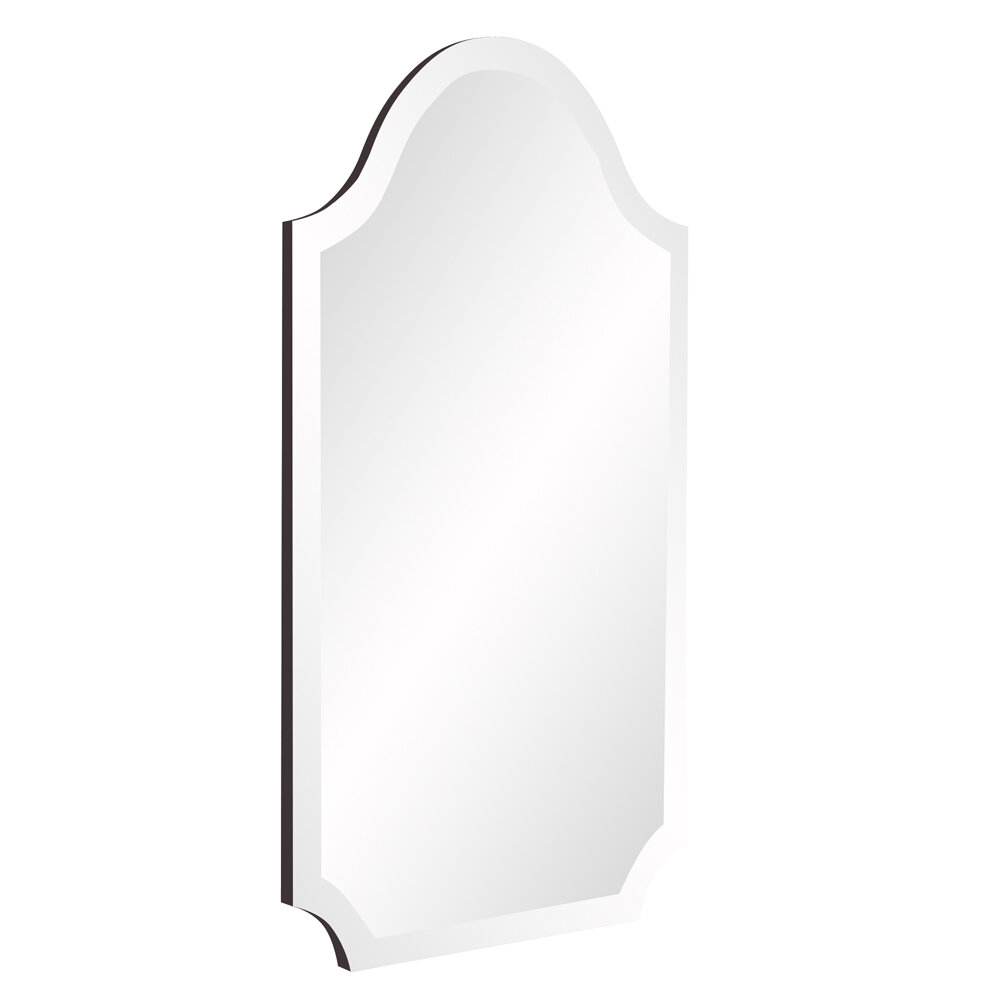 Willa Arlo Interiors Dariel Tall Arched Scalloped Wall Mirror Throughout Dariel Tall Arched Scalloped Wall Mirrors (Photo 5 of 20)