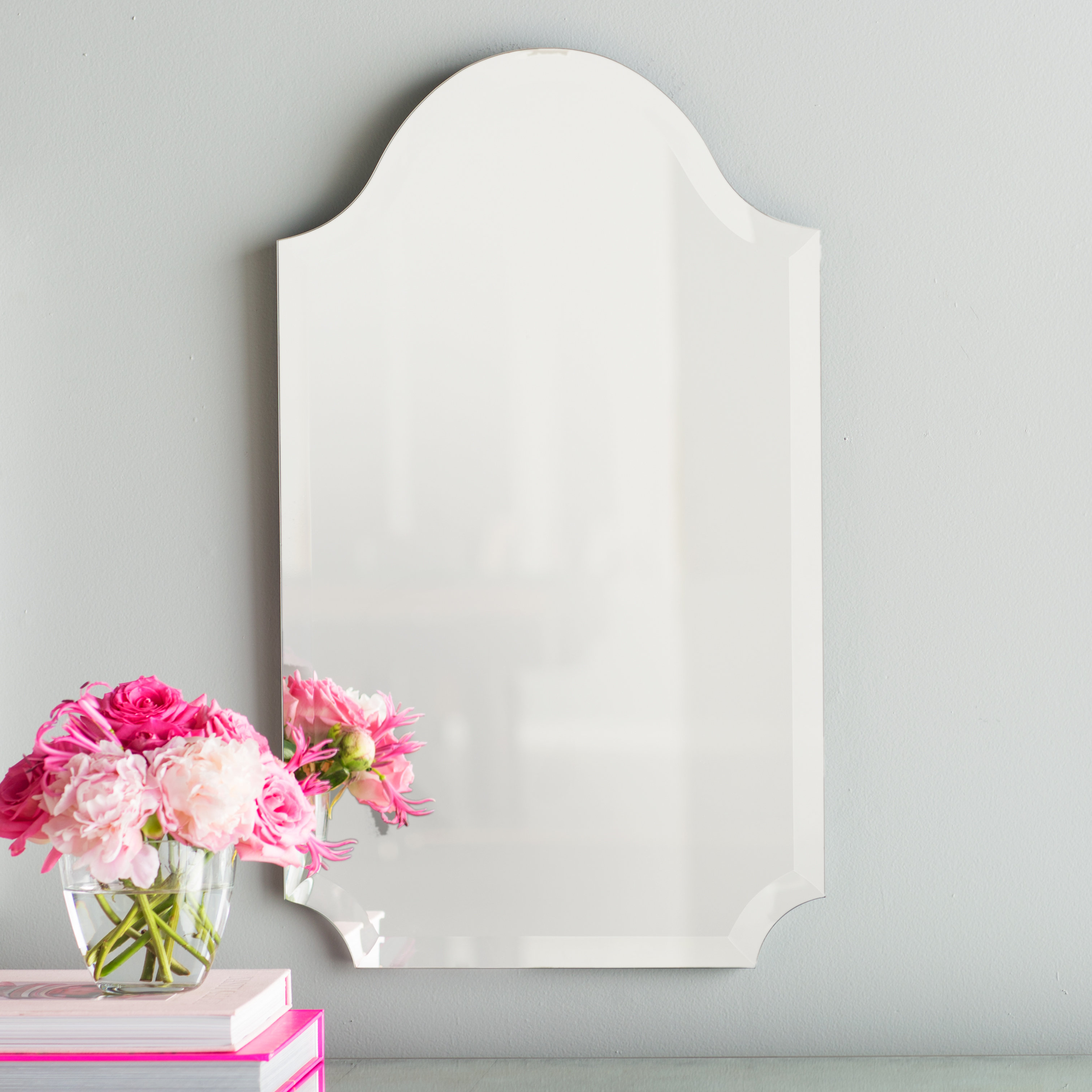 Featured Image of Dariel Tall Arched Scalloped Wall Mirrors