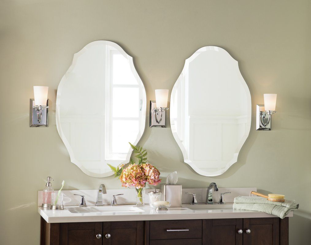 Willa Arlo Interiors Egor Accent Mirror | Bathrooms | Mirror With Egor Accent Mirrors (Image 20 of 20)