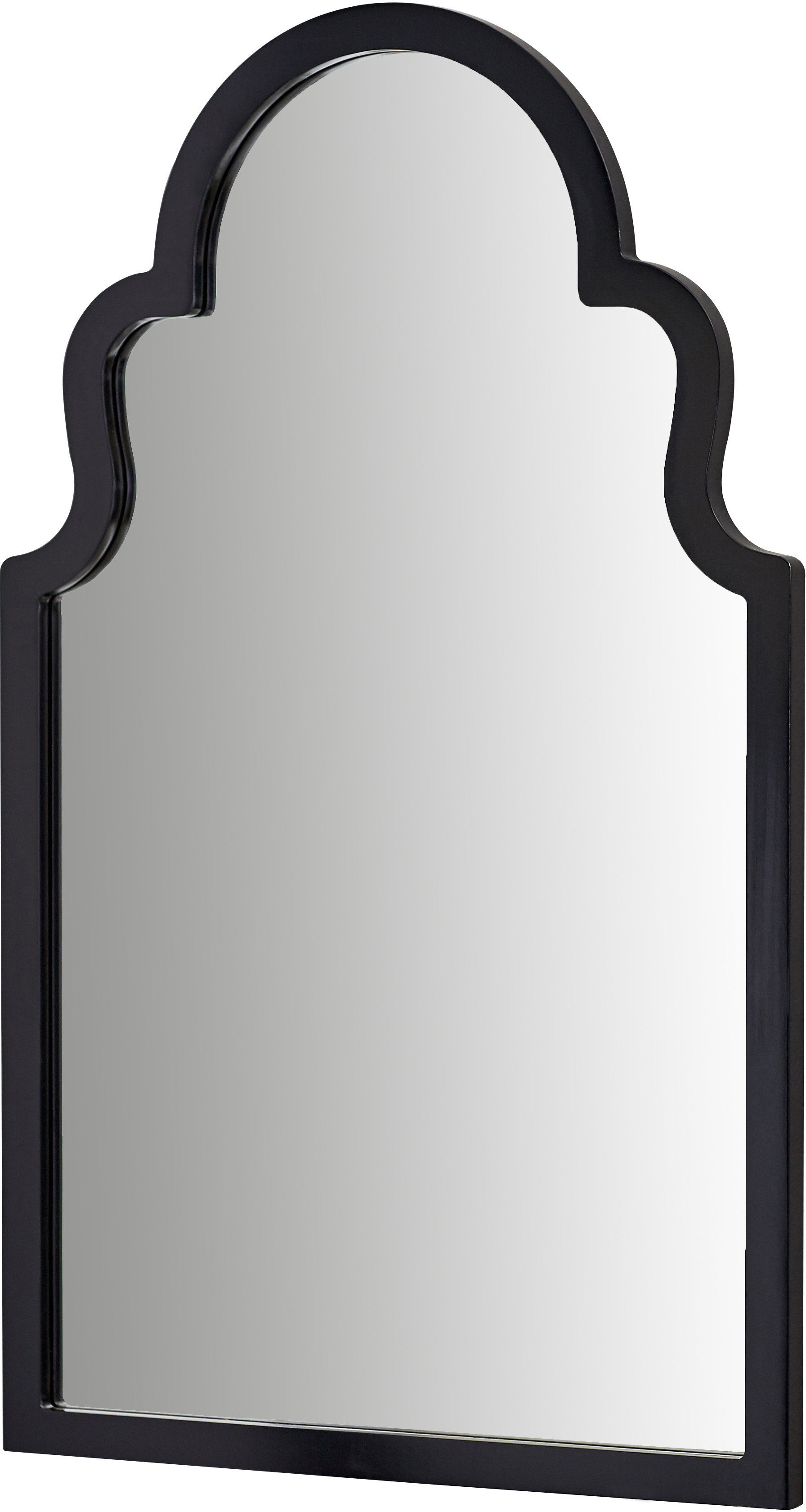 Willa Arlo Interiors Fifi Contemporary Arch Wall Mirror With Fifi Contemporary Arch Wall Mirrors (View 1 of 20)