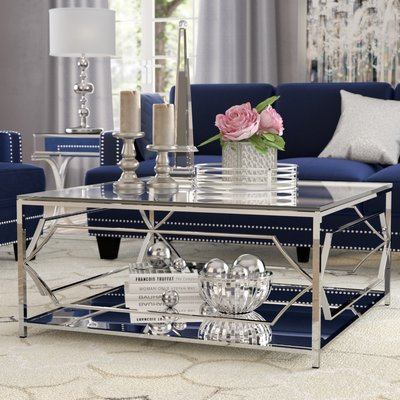 Willa Arlo Interiors George Coffee Table En 2019 | Deco For Mishie Contemporary Champagne 2 Piece Accent Tables Set By Foa (View 23 of 25)
