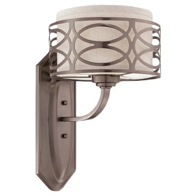Willa Arlo Interiors Helina 1 Light Bath Sconce Finish In Helina 1 Light Pendants (View 12 of 25)