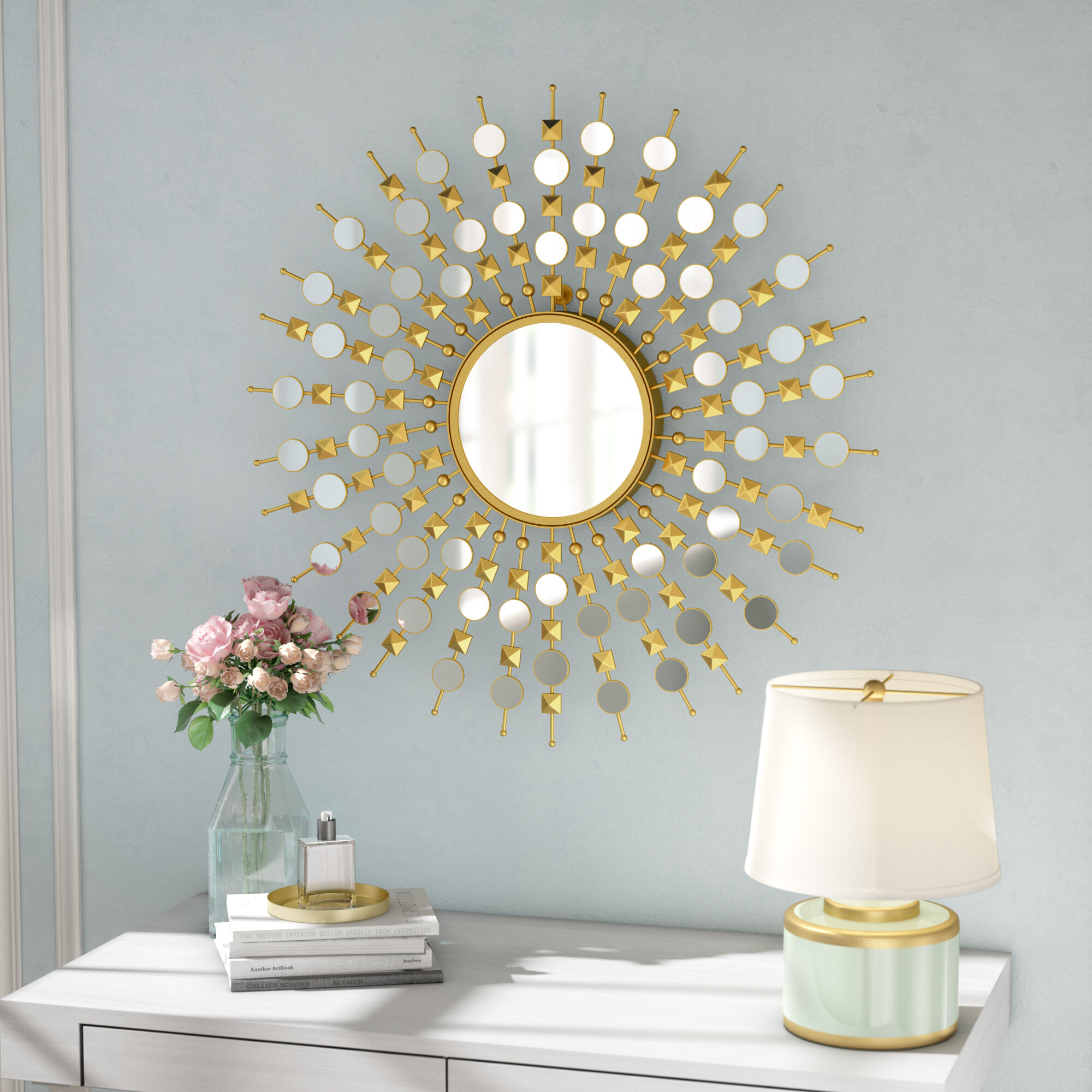Willa Arlo Interiors Sunburst Mirrors You'll Love In 2019 Throughout Brylee Traditional Sunburst Mirrors (View 10 of 20)
