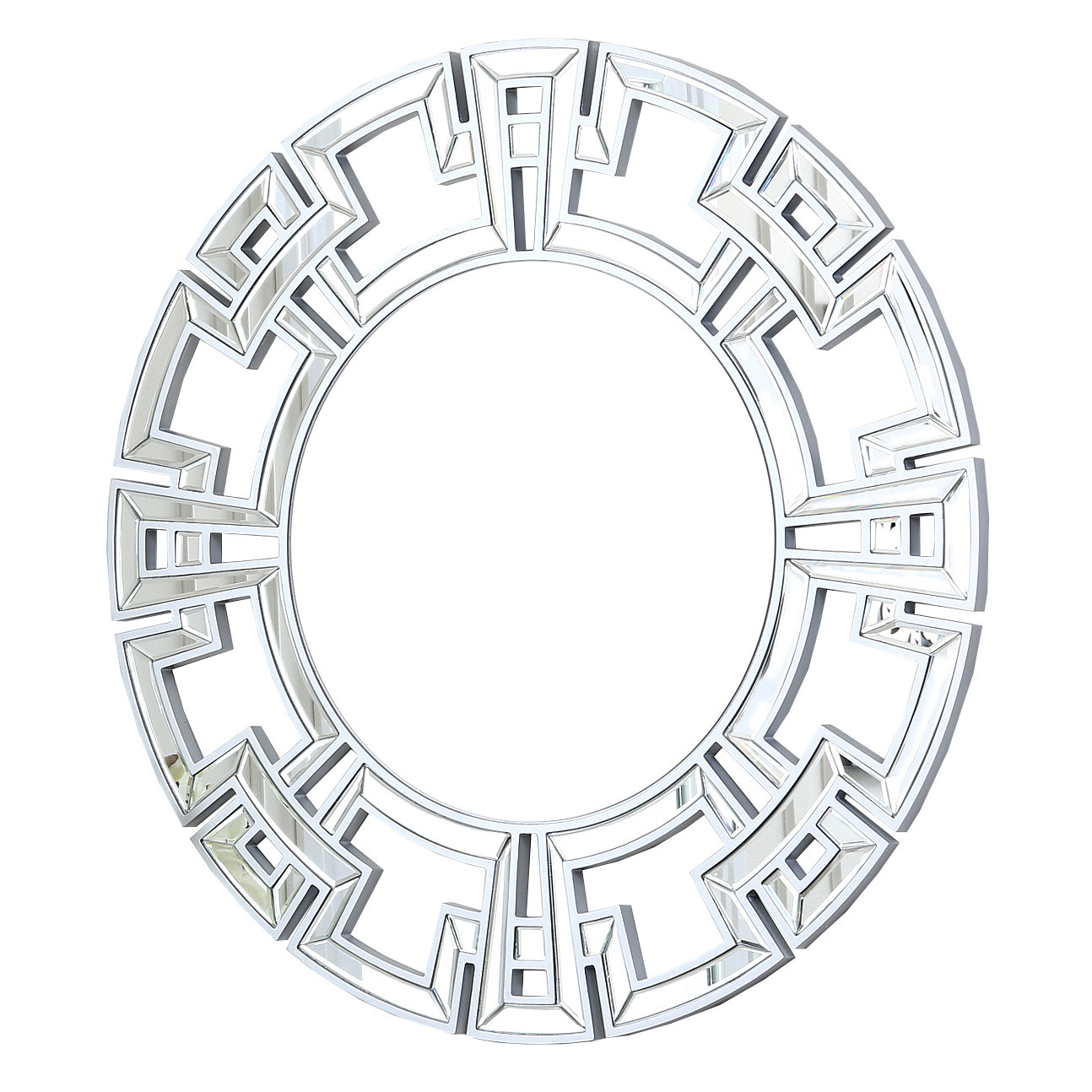 Willa Arlo Interiors Tata Openwork Round Wall Mirror Regarding Tata Openwork Round Wall Mirrors (Image 17 of 20)