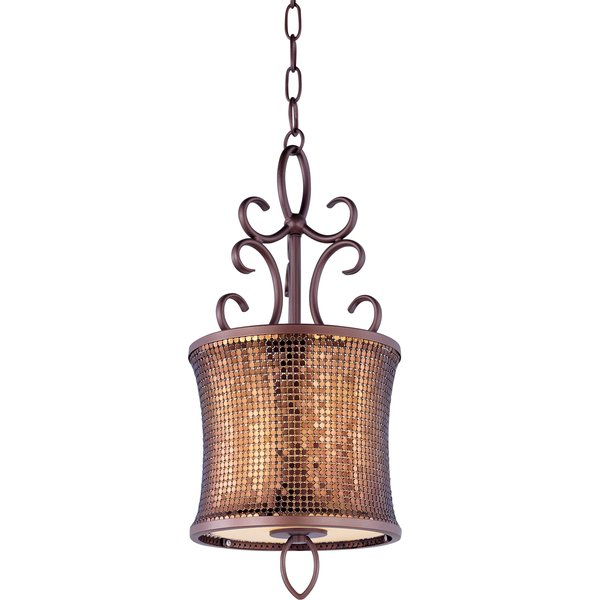Featured Image of Willems 1 Light Single Drum Pendants