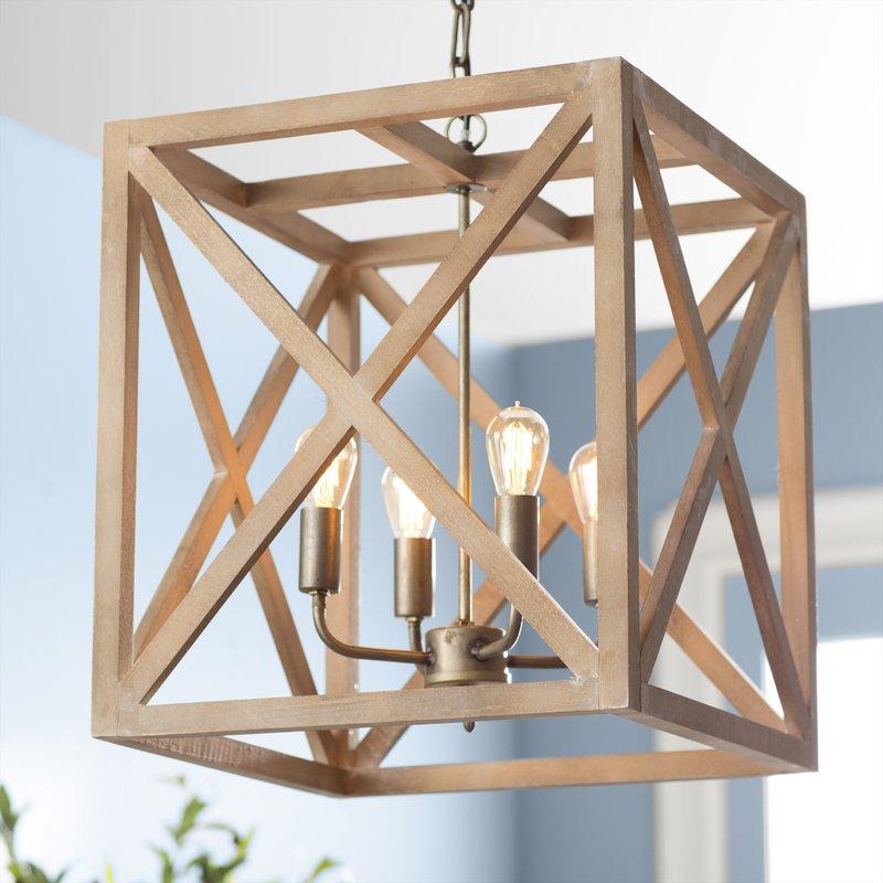 Featured Image of William 4 Light Lantern Square / Rectangle Pendants