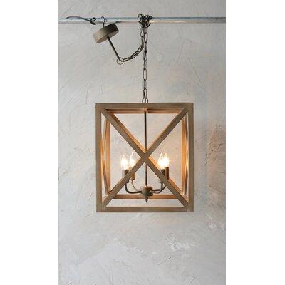 William 4 Light Lantern Square / Rectangle Pendant | Joss & Main Inside William 4 Light Lantern Square / Rectangle Pendants (Image 19 of 25)