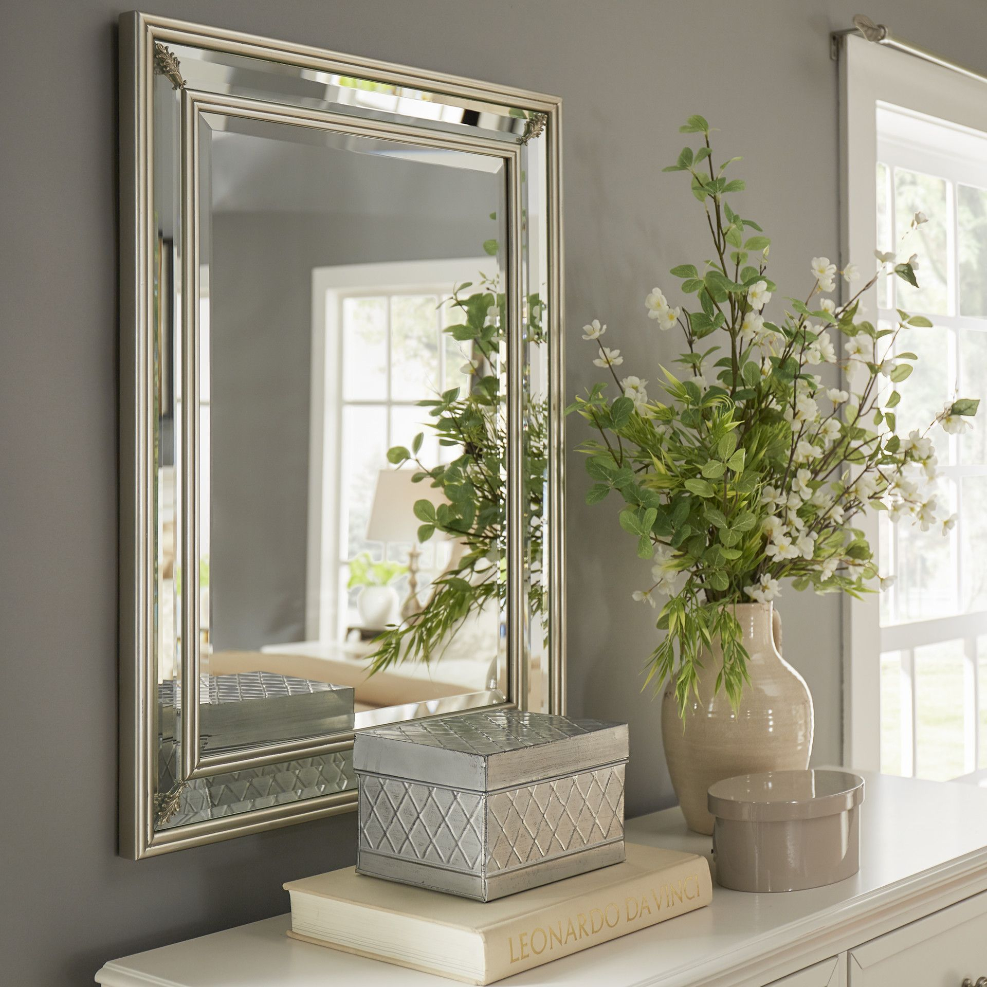 Wilson Accent Mirror | Apartment Things! | Mirror, Oversized Inside Tutuala Traditional Beveled Accent Mirrors (View 11 of 20)