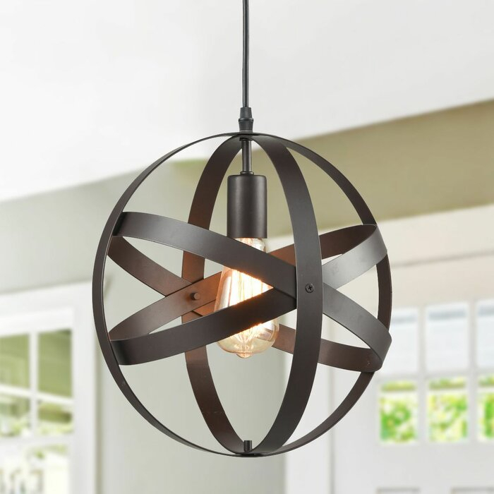 Windermere 1 Light Globe Pendant With Regard To Kilby 1 Light Pendants (View 14 of 25)
